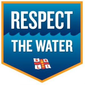 Rnli respect the water