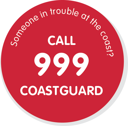 Call 999 coastguard